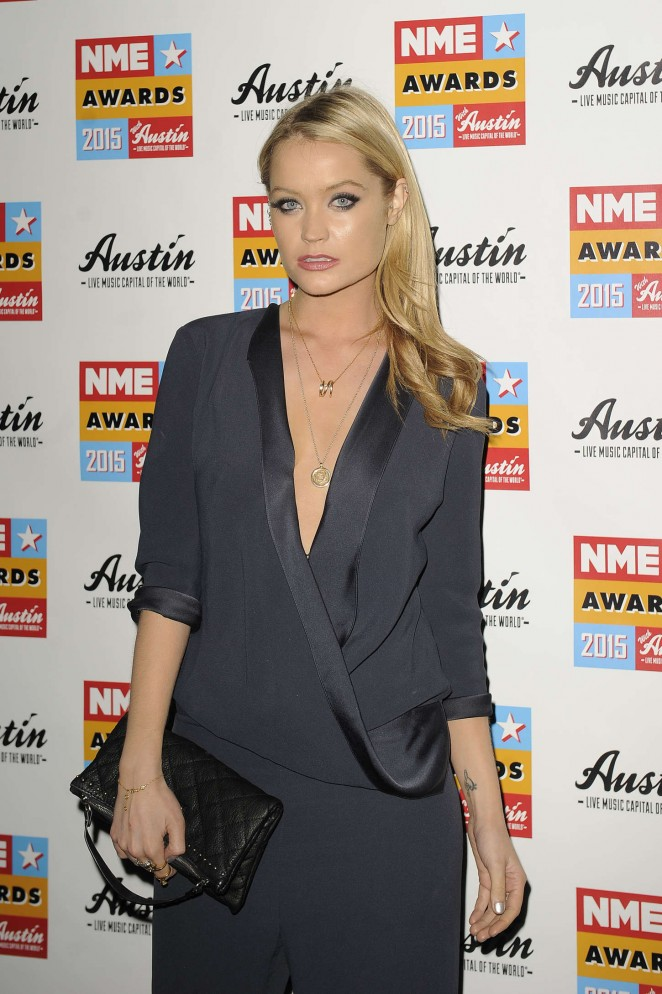 Laura Whitmore – NME Awards 2015 at Brixton Academy in London
