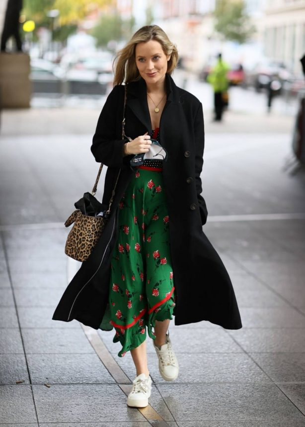 Laura Whitmore - Out and about in London