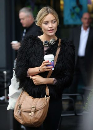 Laura Whitmore Out in London