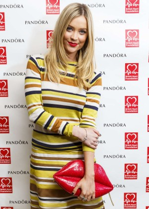 Laura Whitmore - PANDORA & BHF Afternoon Tea in London