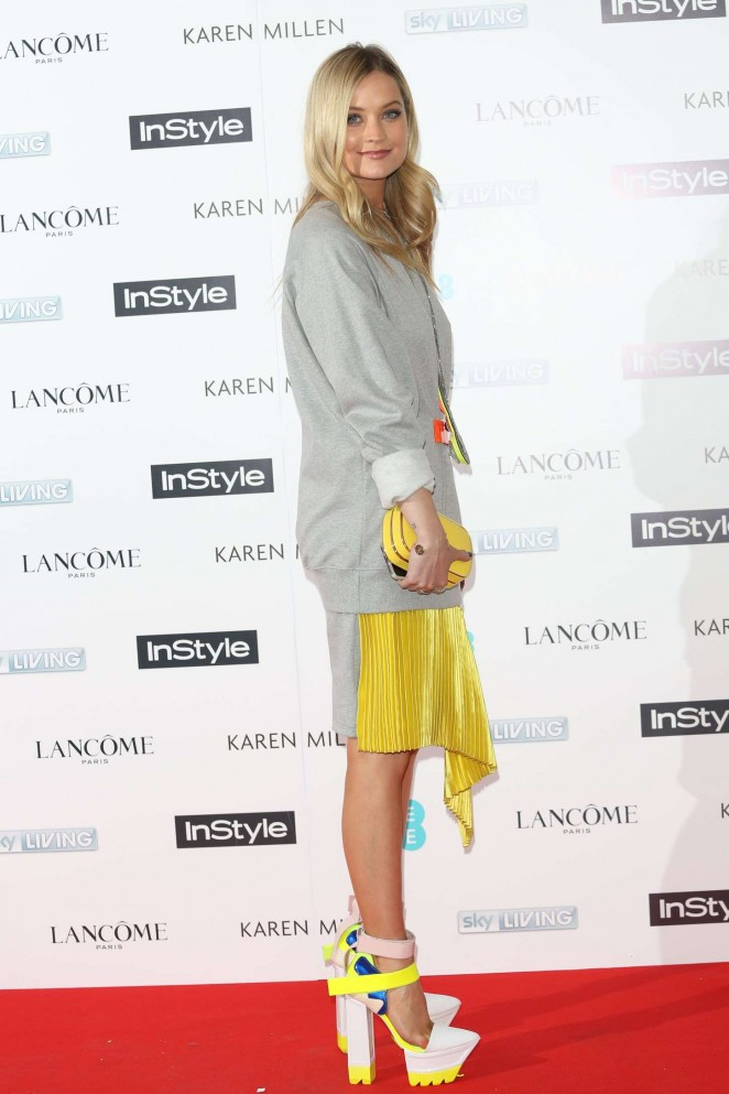 Laura Whitmore: EE and InStyle Pre-BAFTA Party 2015 -01