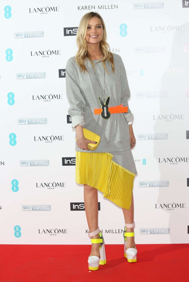 Laura Whitmore: EE and InStyle Pre-BAFTA Party 2015 -04
