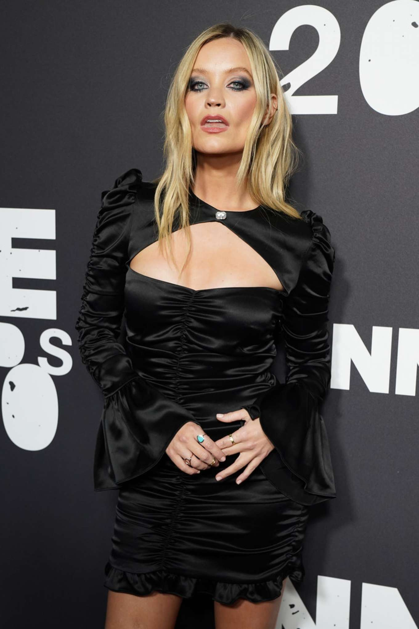 Laura Whitmore - Red Carpet at NME Awards 2020 in London