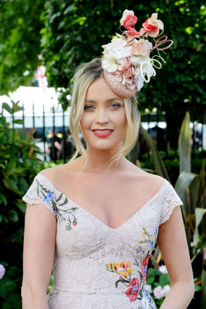 Laura Whitmore - Royal Ascot Races in Berkshire