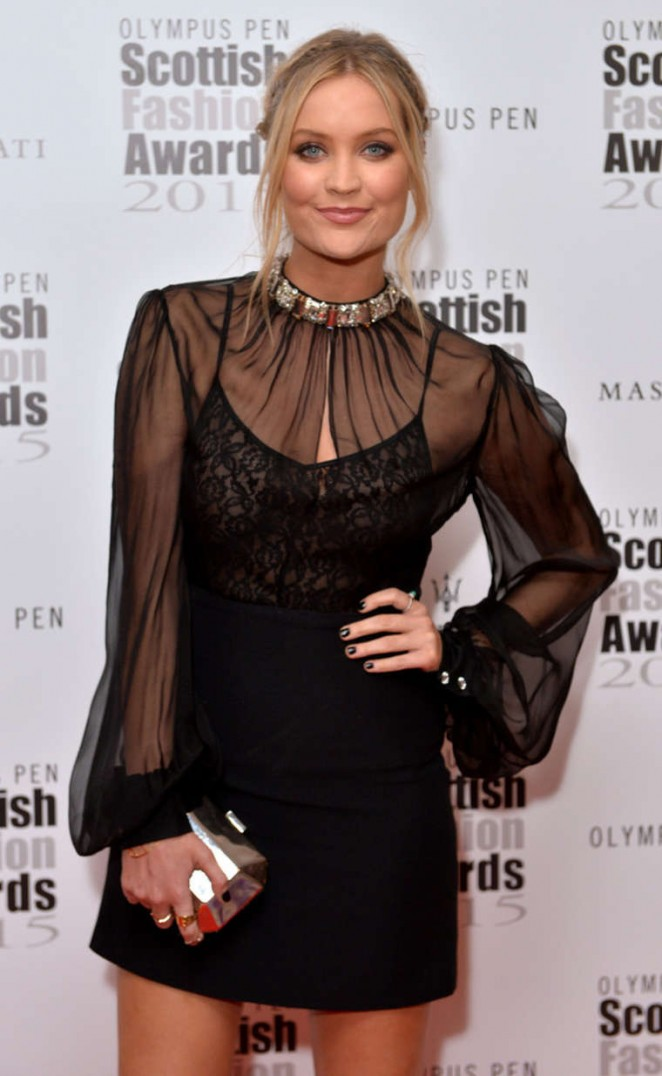 Laura Whitmore - Scottish Fashion Awards in London