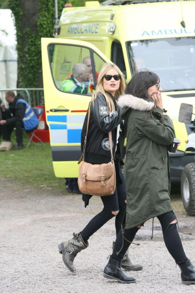 Laura Whitmore: Slane Castle Festival 2015 -03