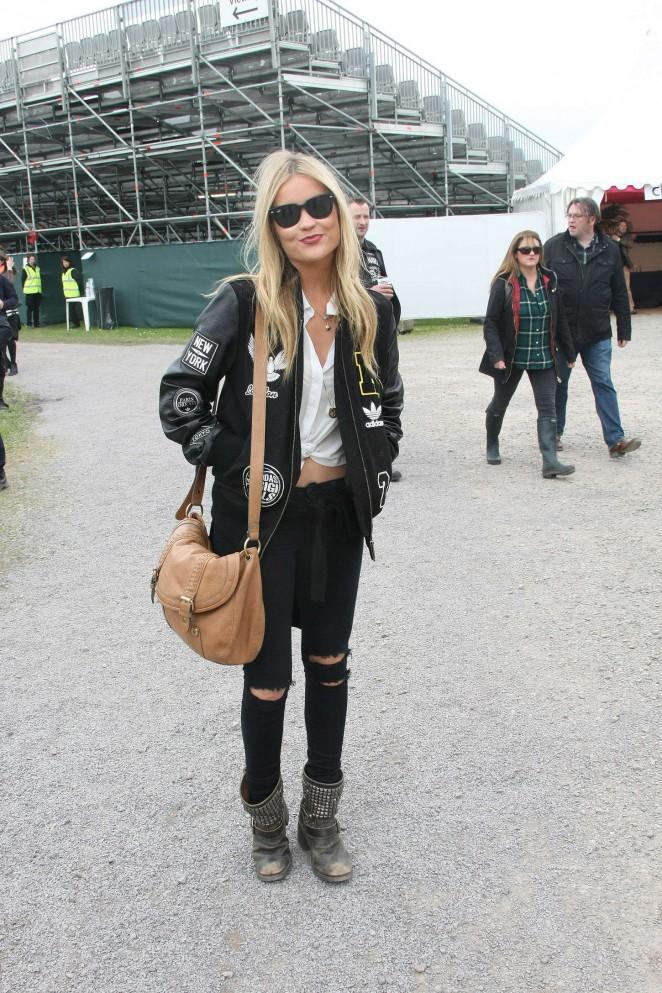 Laura Whitmore: Slane Castle Festival 2015 -25