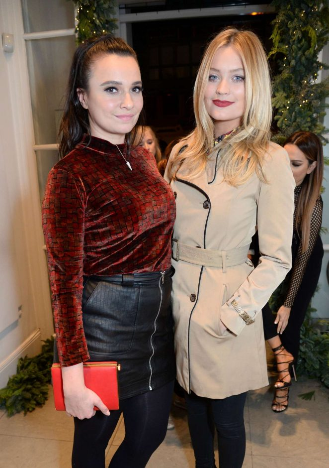 Laura Whitmore – Stella McCartney Store Christmas Lights Switching on Ceremony in London
