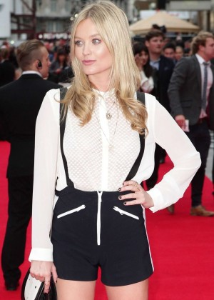 Laura Whitmore - 'The Bad Education Movie' Premiere in London
