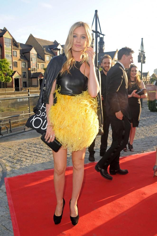 Laura Whitmore – UK Fashion & Textile Awards in London