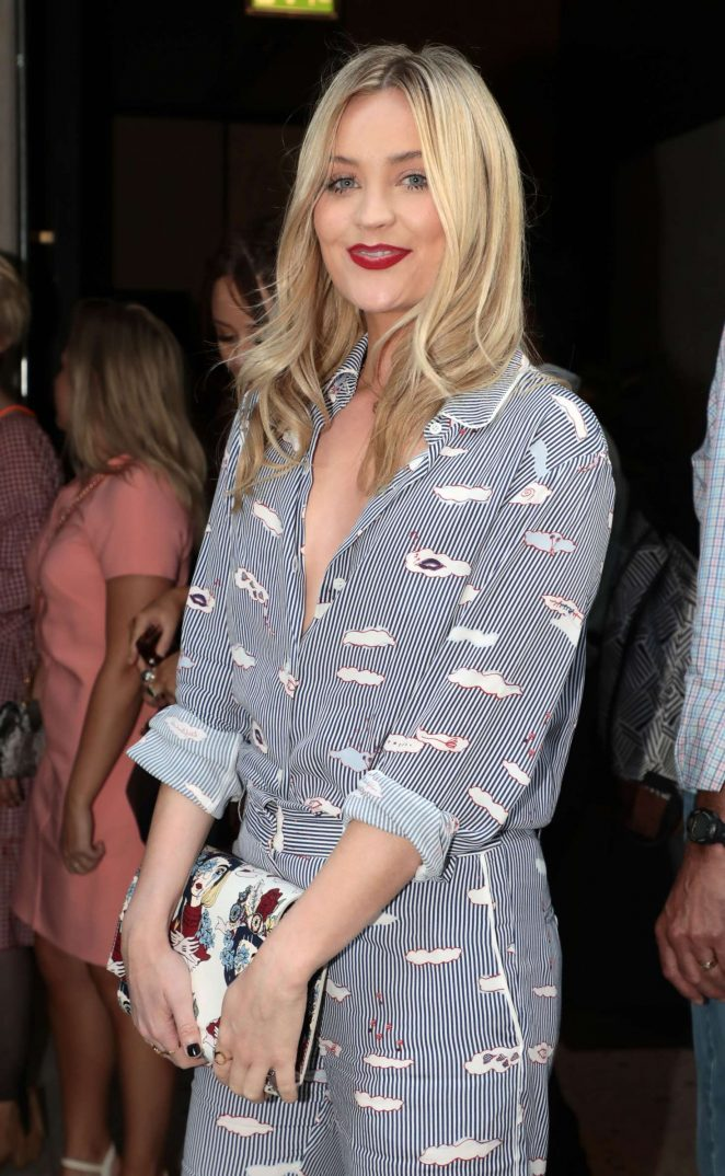 Laura Whitmore - Warner Music and GQ Summer Party in London
