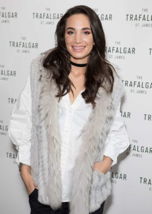 Laura Wright - The Trafalgar St James Launch Party in London