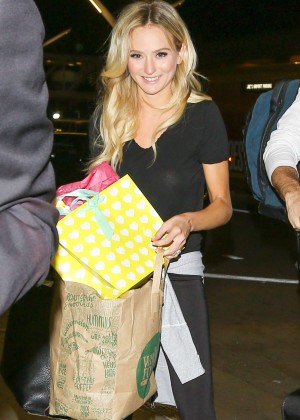 Lauren Bushnell at LAX Airport in Los Angeles