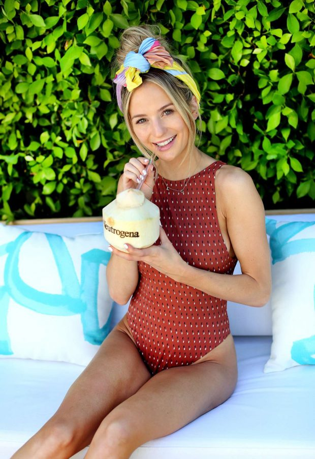 Permalink to Lauren Bushnell In Swimsuit At Neutrogena Hydro Boost Haus In Palm Springs