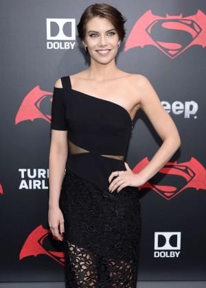 Lauren Cohan - 'Batman V Superman: Dawn Of Justice' Premiere in New York City