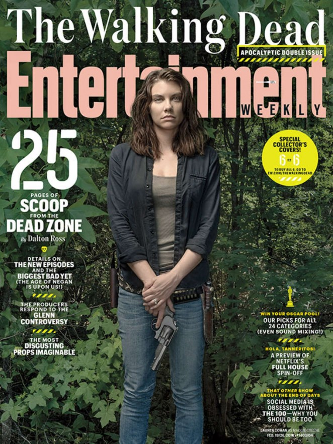 Lauren Cohan - Entertainment Weekly Cover (February 2016)