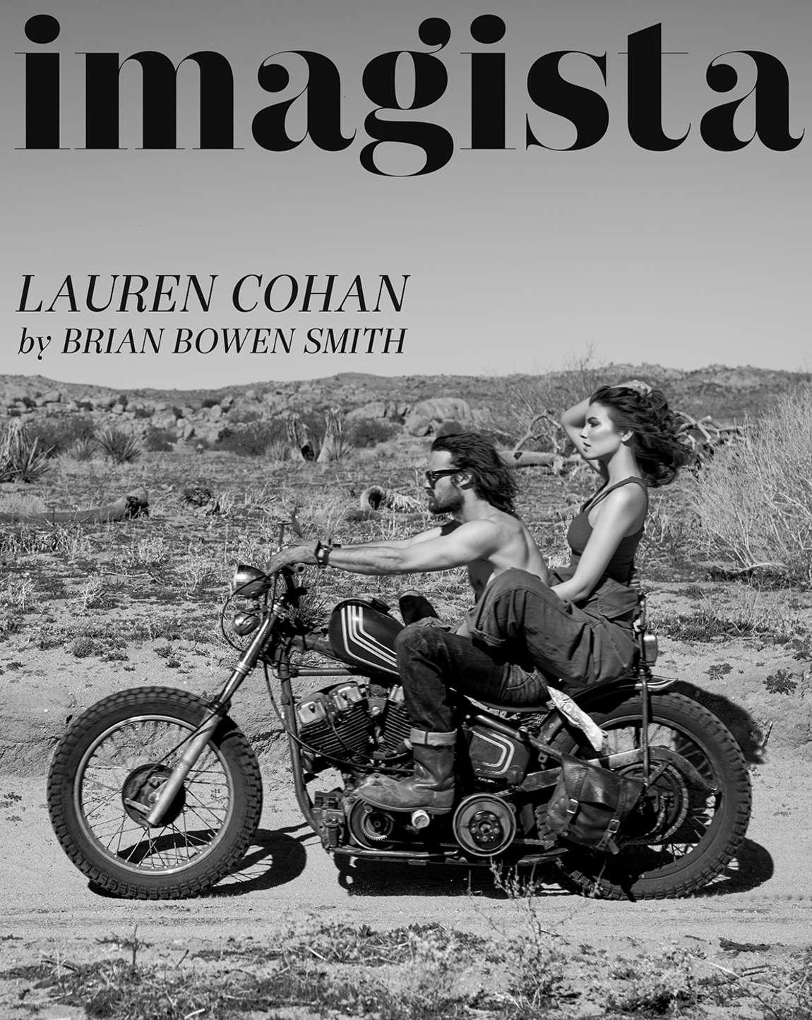 Lauren Cohan - Imagista Magazine 2015
