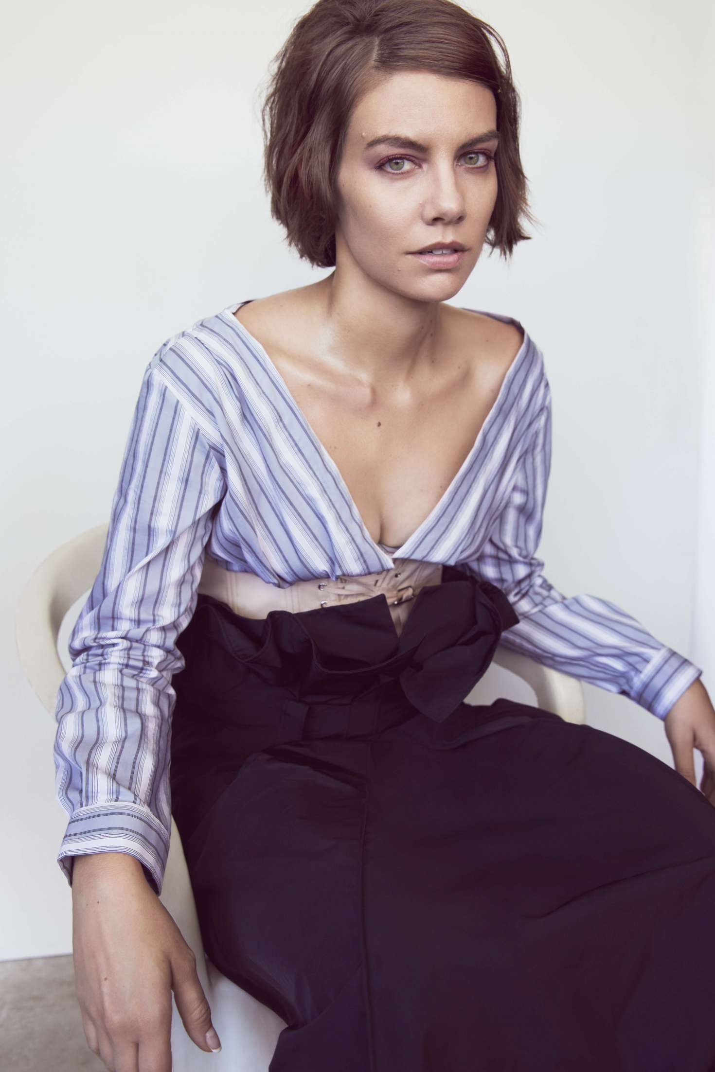 Lauren Cohan Interview Magazine October 2017