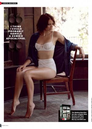 Lauren Cohan: Maxim Australia 2014 -02
