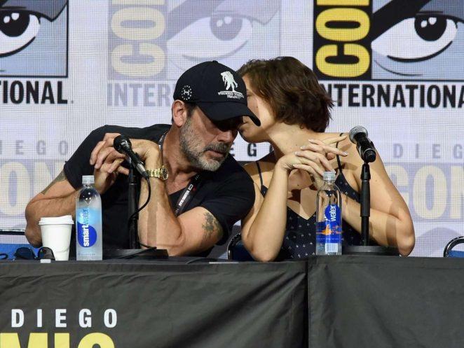 Lauren Cohan - The Walking Dead Panel in San Diego