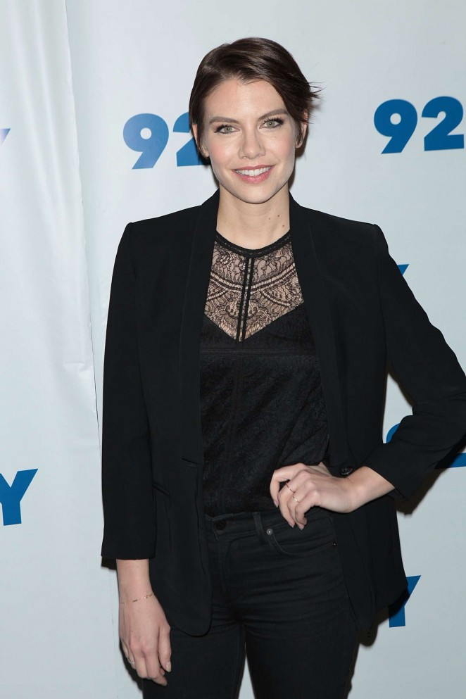 Lauren Cohan - 'The Walking Dead' Screening in NYC