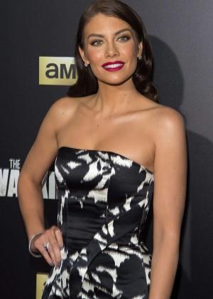 Lauren Cohan - 'The Walking Dead' Season 6 Fan Premiere Event in NY