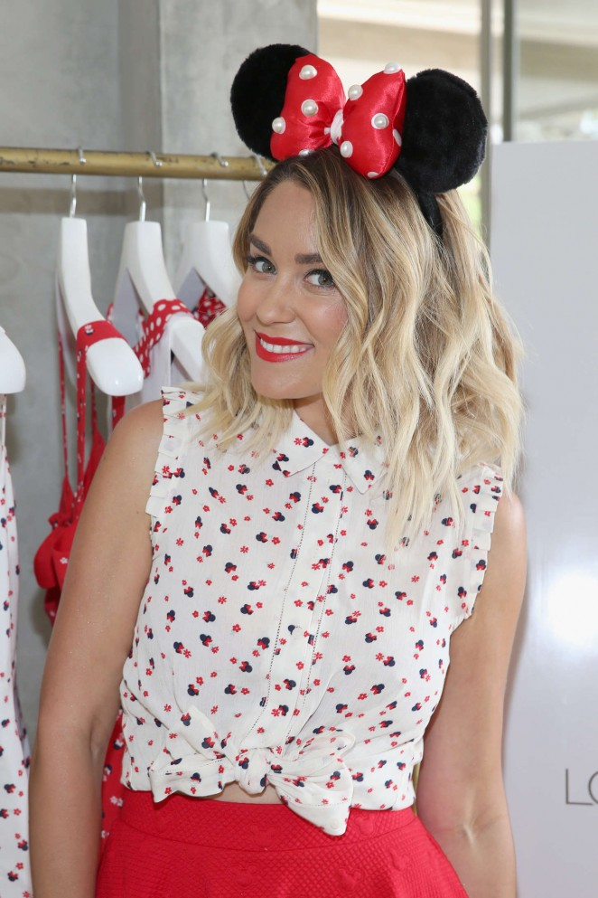 Lauren Conrad - Debuting her new Minnie Mouse Collection in Beverly Hills