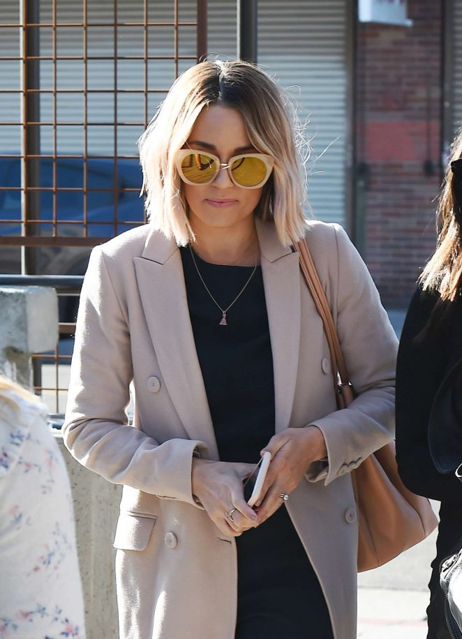 Lauren Conrad - Heading to the Create and Cultivate event in LA