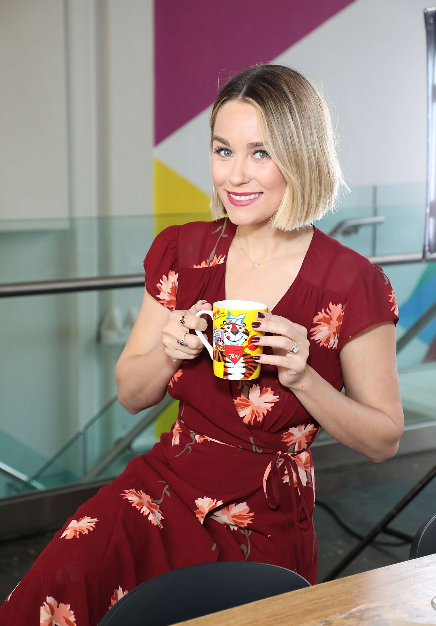 Lauren Conrad - Launches the Kellogg's NYC Cafe in New York