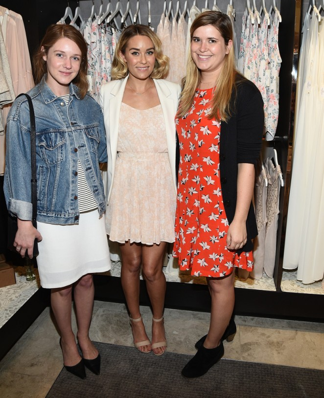 Lauren Conrad: Paper Crown Rifle Paper Co Pop-Up Shop -14