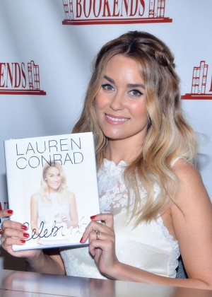 Lauren Conrad - Promotes her new book 'Celebrate' in Ridgewood