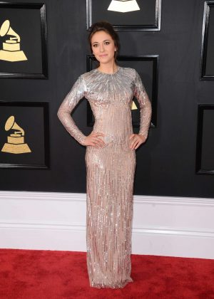 Lauren Diagle - 59th GRAMMY Awards in Los Angeles