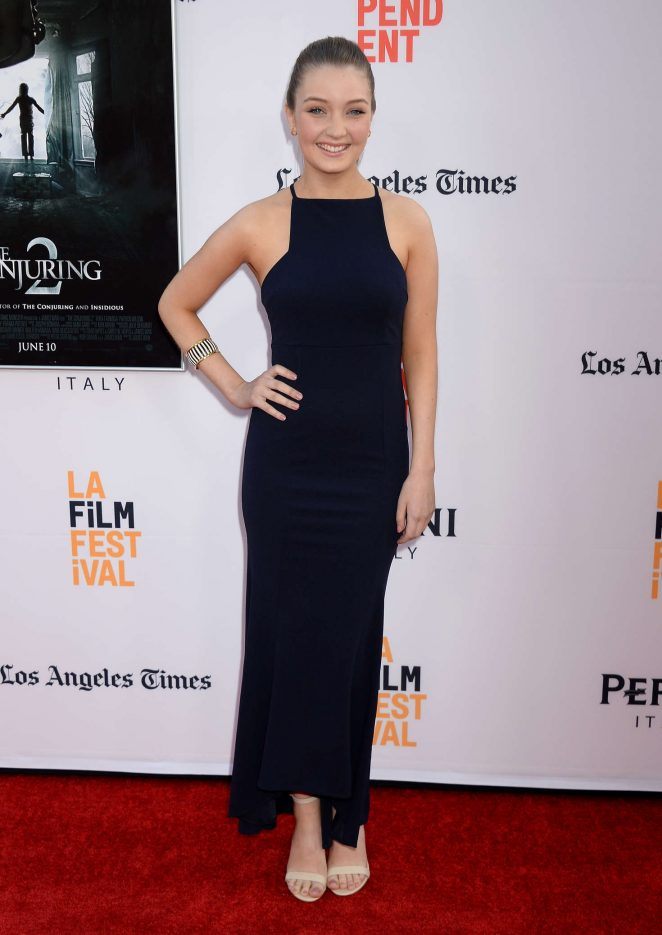 Lauren Esposito - 'The Conjuring 2' Premiere at 2016 Los Angeles Film Festival in LA