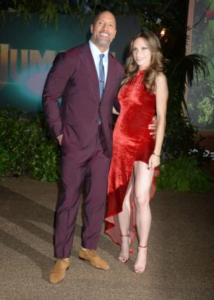 Lauren Hashian And Dwayne Johnson Jumanji Welcome To