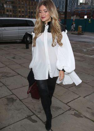 Lauren Hutton-Fraser at Joshua Kane LCM Fashion Show 2016 in London