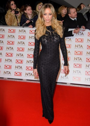 Lauren Pope - 2015 National Television Awards in London