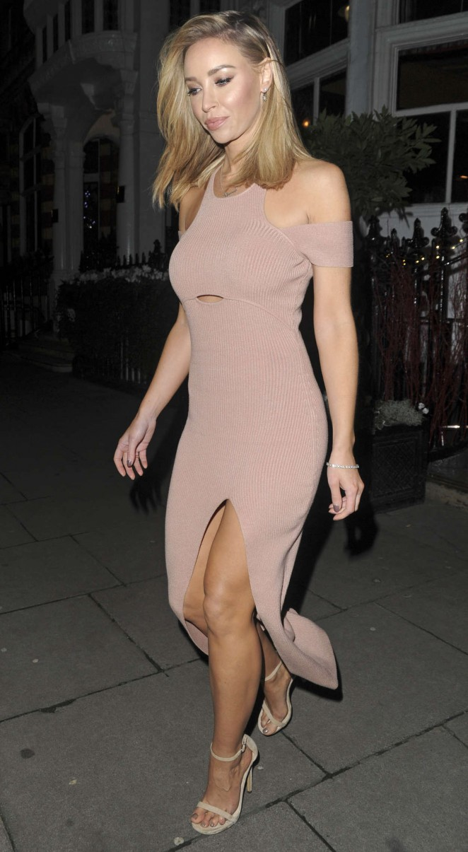Lauren Pope at the Bloodwise Christmas with the Stars Concert in London