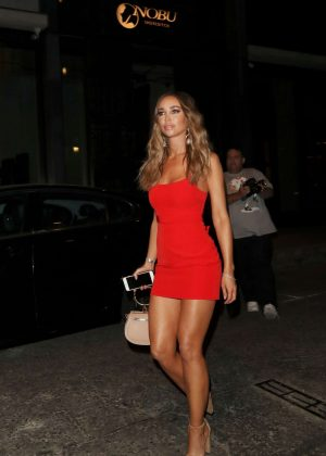 Lauren Pope at the ITV Summer Party in London