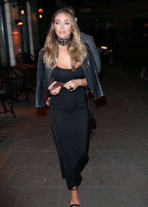 Lauren Pope - Attend Vas J Morgans Birthday Party in London