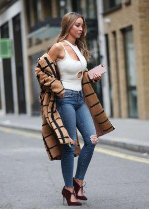 Lauren London Jeans Lauren Pope in ...