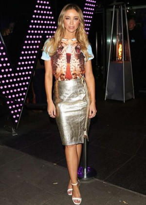 Lauren Pope at The W Hotel in London