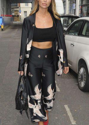 Lauren Pope Out in London