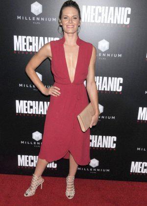 Lauren Shaw - 'Mechanic: Resurrection' Premiere in Los Angeles