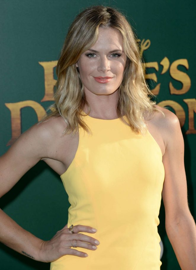 Lauren Shaw – 'Pete's Dragon' Premiere in Hollywood