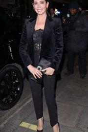 Lauren Silverman - Arriving at the Boulevard Theatre in London