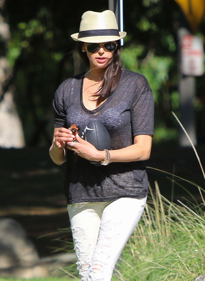 Lauren Silverman at The Park in Beverly Hills