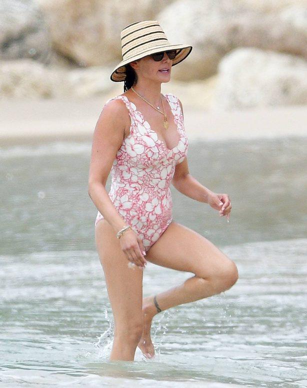Lauren Silverman - In a bikini at the beach in Bridgetown