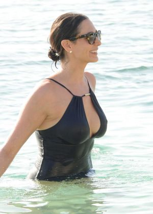 Christina milian on beach in miami - 1 3
