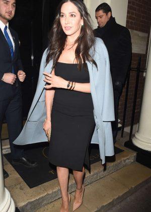 Lauren Silverman - Leaving Arts Club Private Members Bar and Restaurant in London