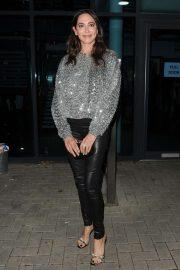 Lauren Silverman - Leaving the LH2 Studios in London